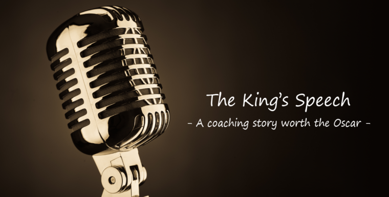 The King's Speech – A coaching story worth the Oscar