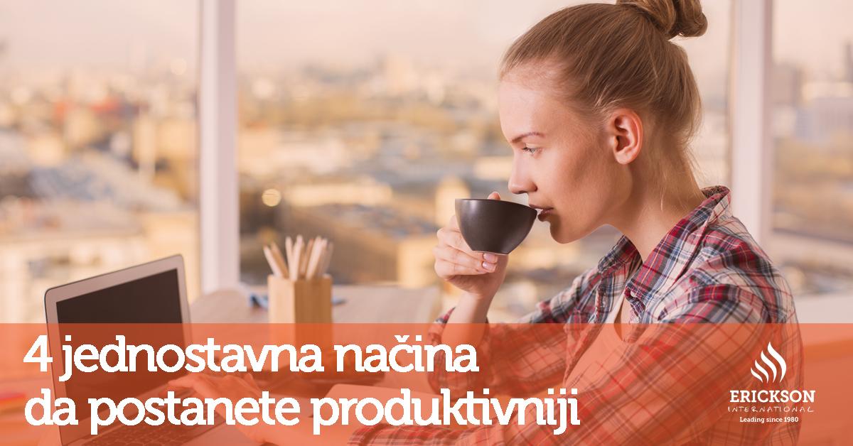 Kako ćete postići veću produktivnost?