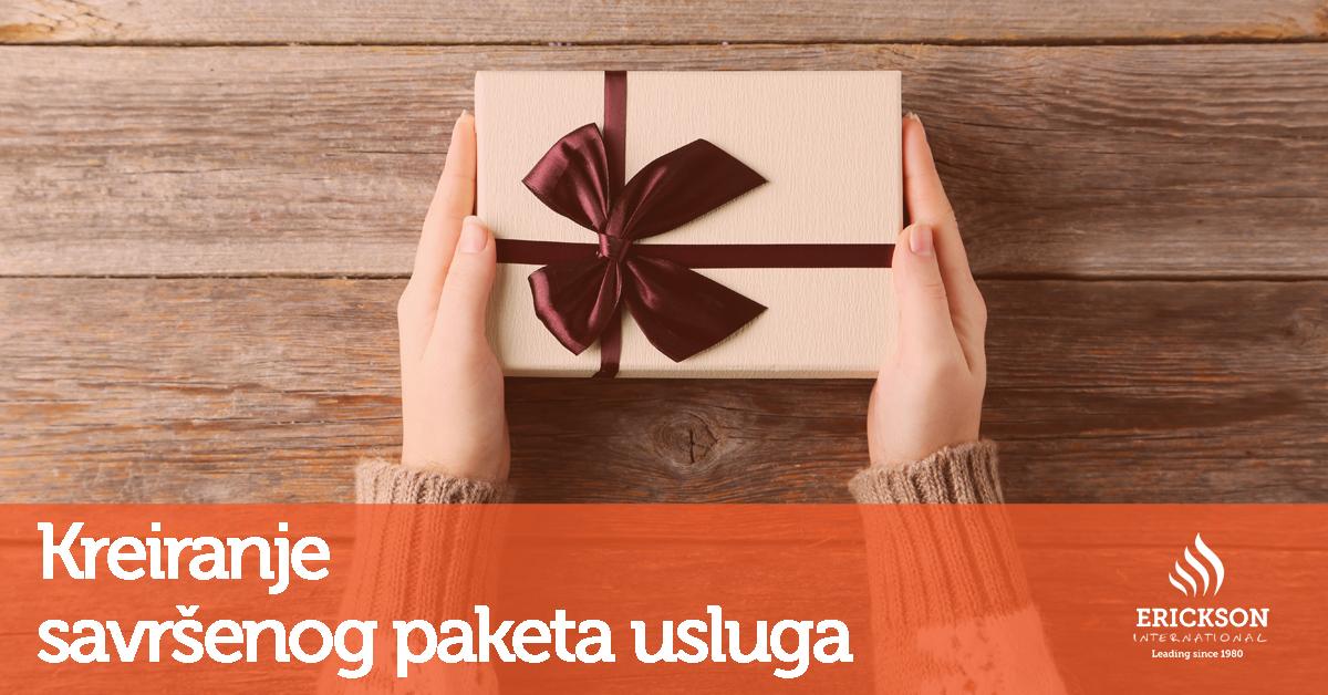 Kreirajte savršen paket usluga