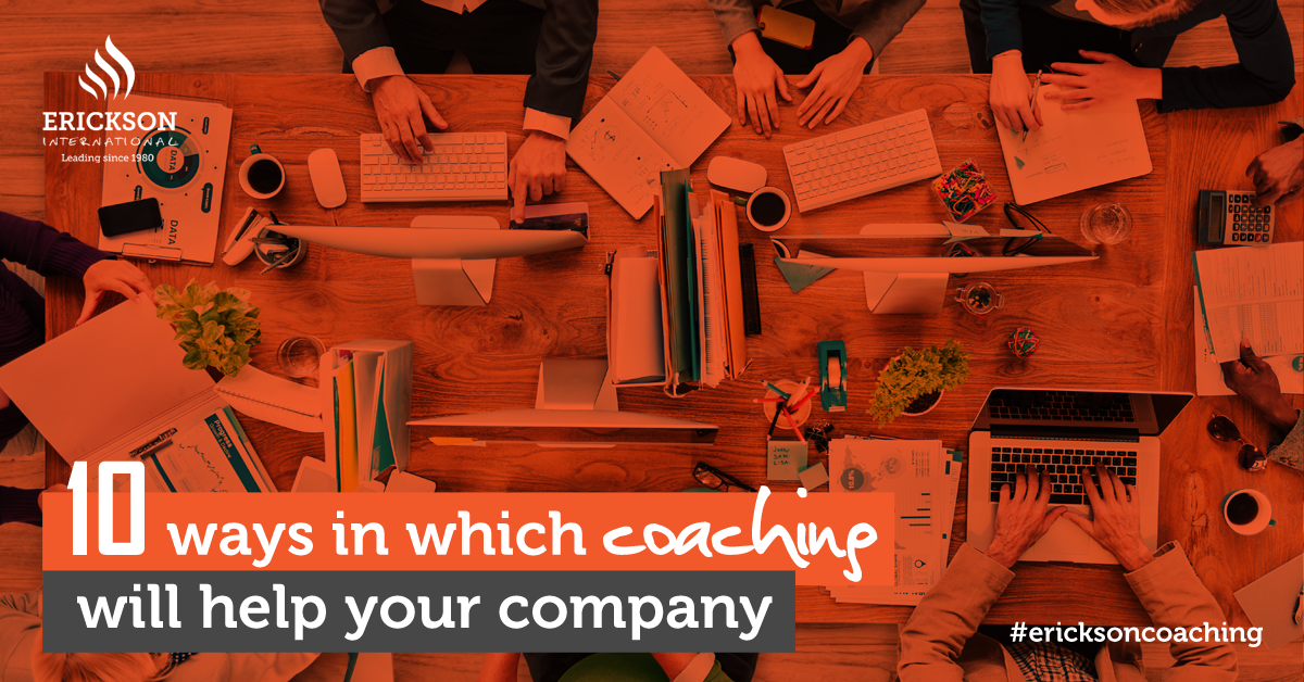 10 ways in which coaching can help your company