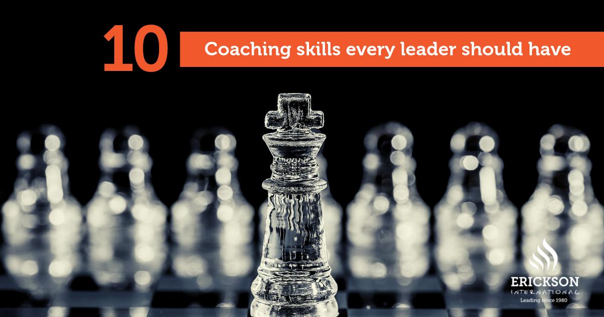 10 coaching skills - coach