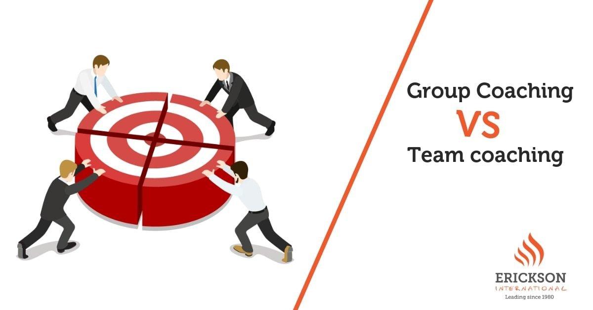 Group coaching vs. team coaching