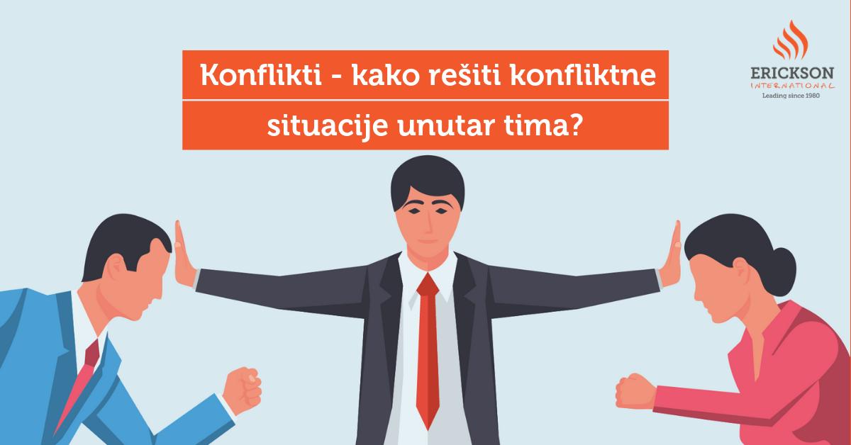 Konflikti – kako rešiti konfliktne situacije unutar tima?