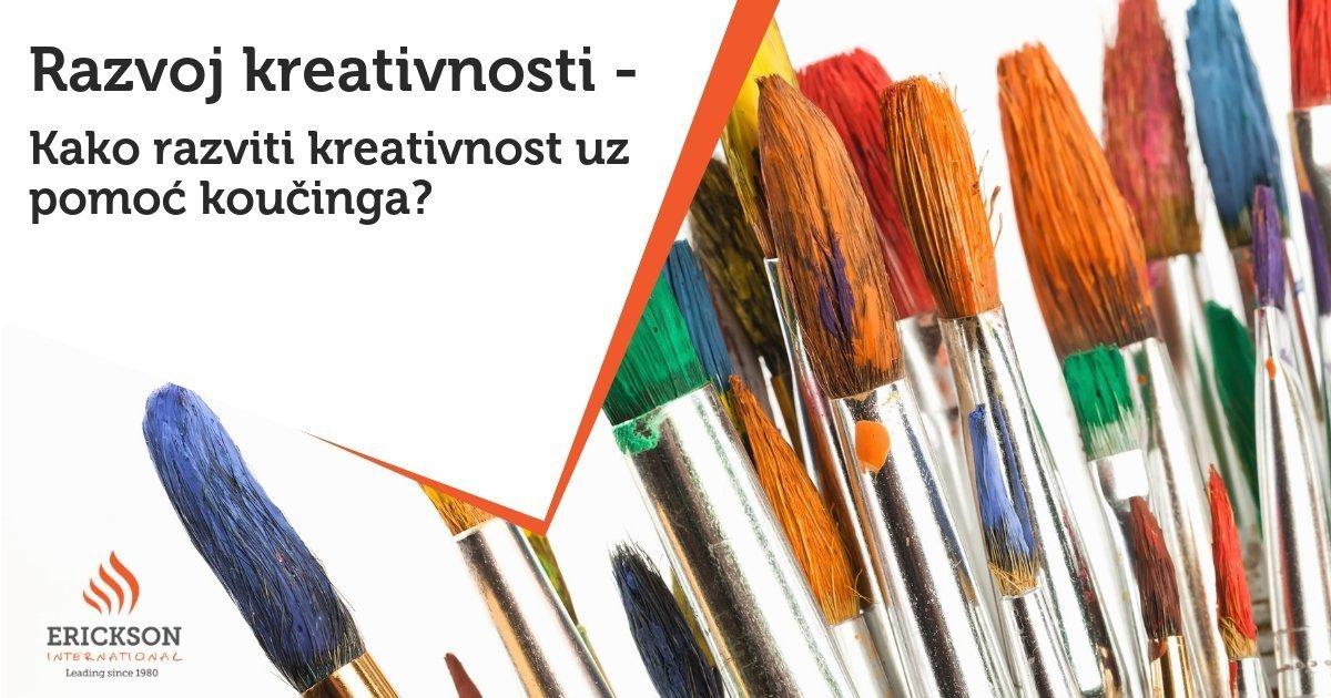 Razvoj kreativnosti - Kako razviti kreativnost uz pomoć koučinga?
