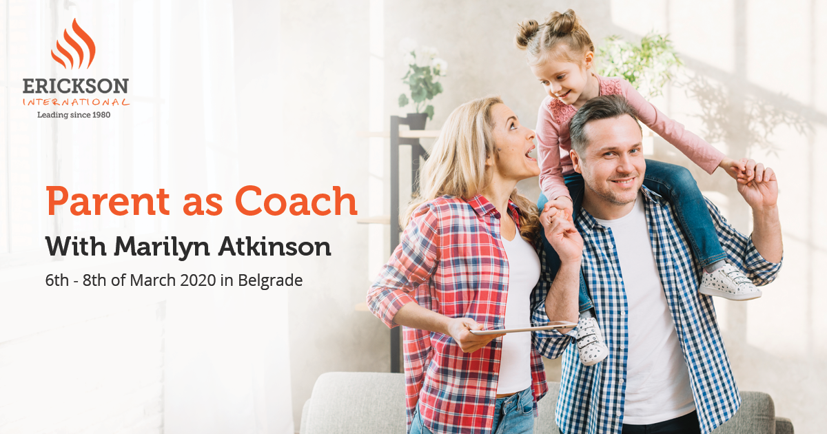 Parent as a Coach with Marilyn Atkinson