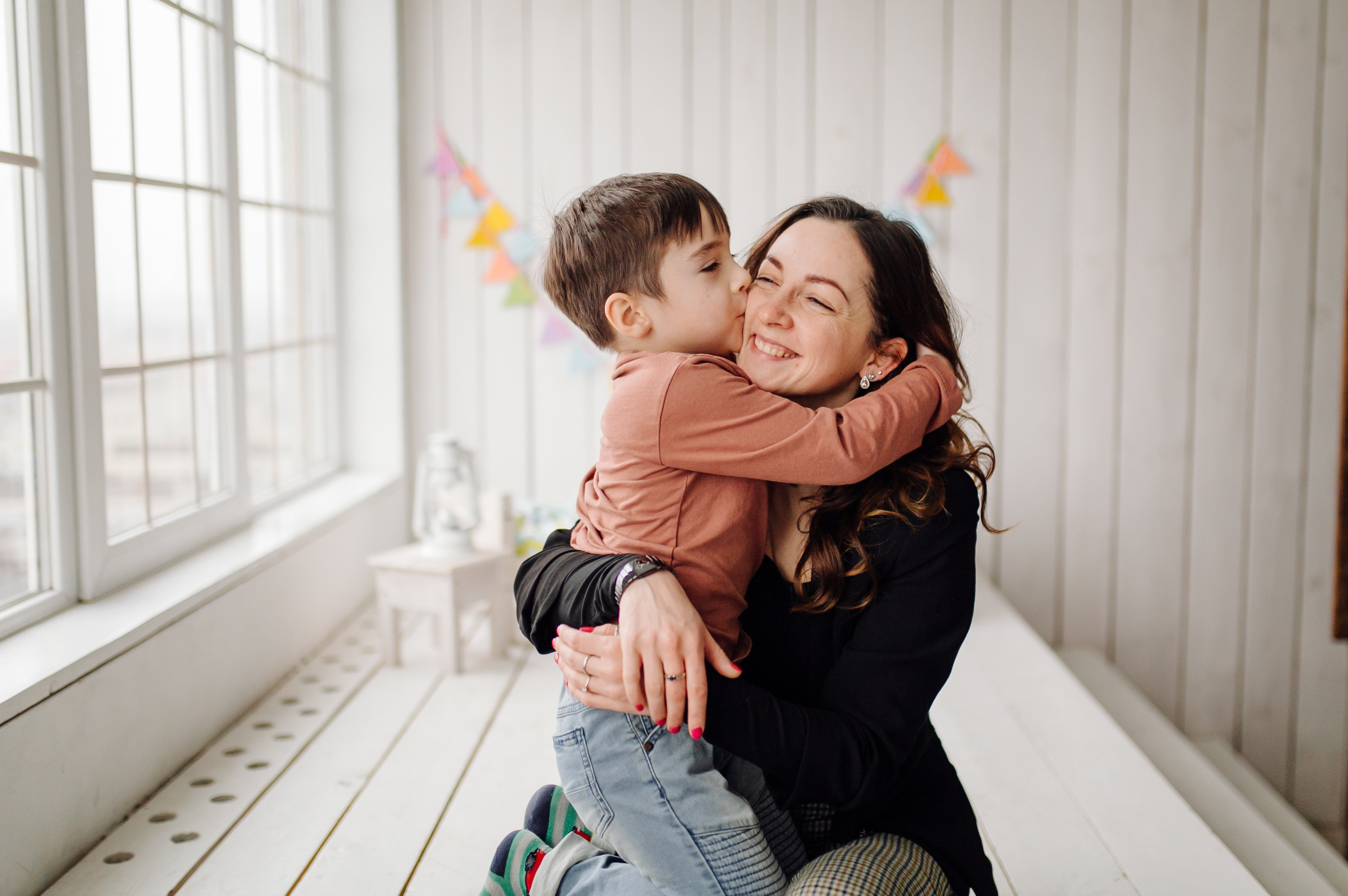 mama-poslovna žena-mama i dete