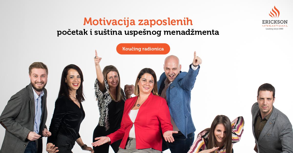Motivacija zaposlenih – početak i suština uspešnog menadžmenta