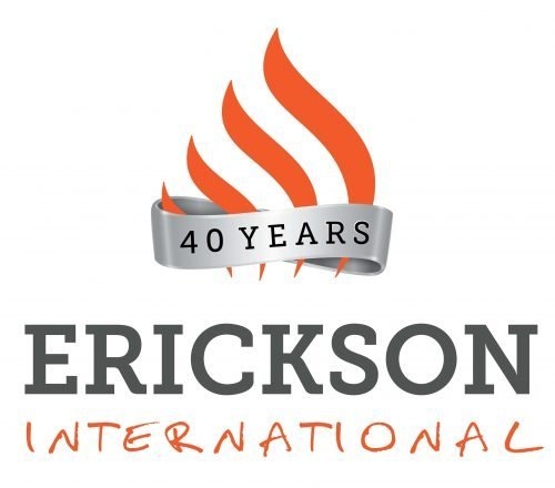 Erickson International Logo 40 years