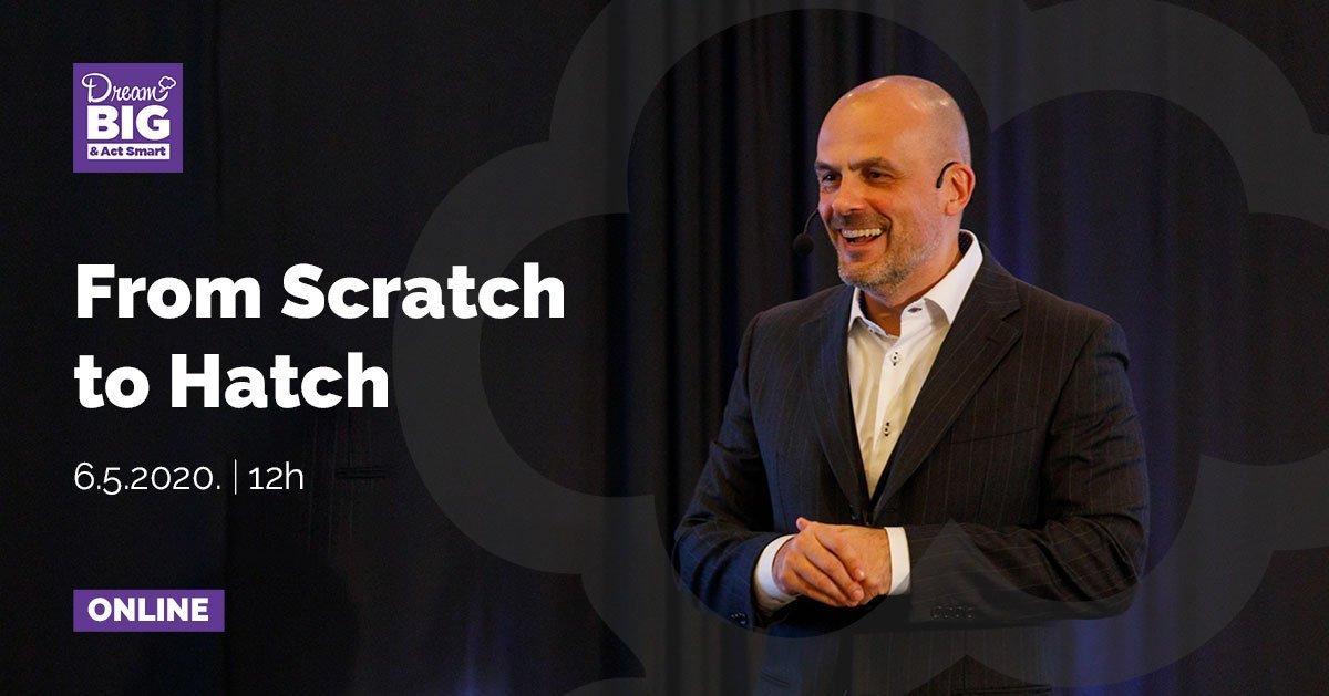 """Webinar """"From Scratch to Hatch"""""""