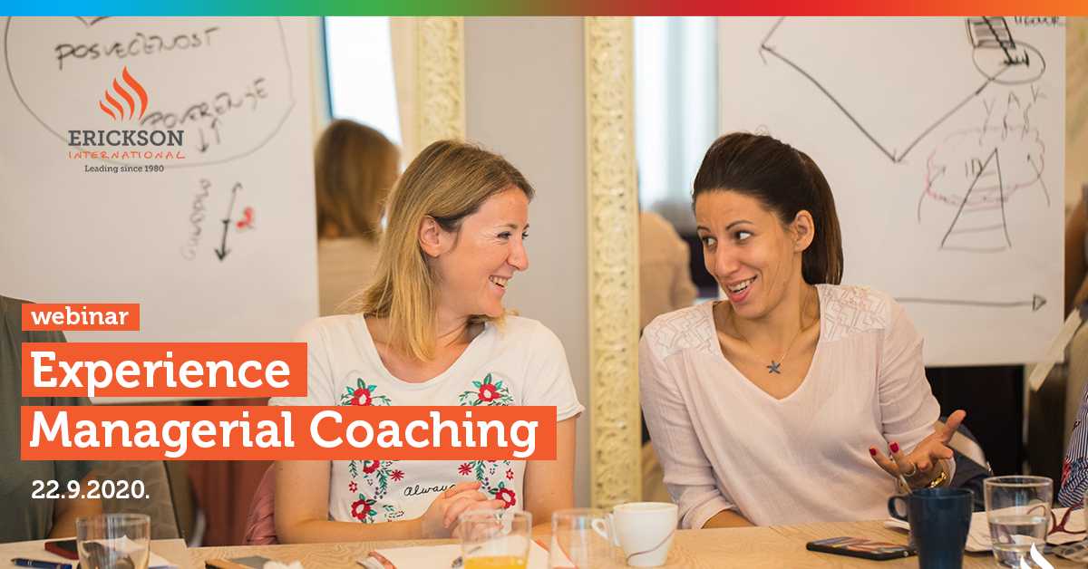 "Coaching webinar ""Coach Up – Experience Managerial Coaching"""